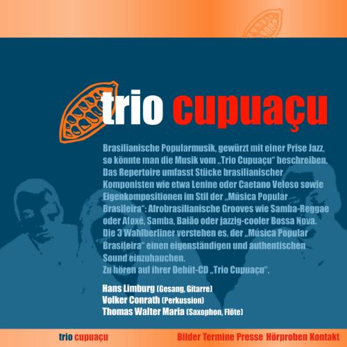 Trio Cupuaçu